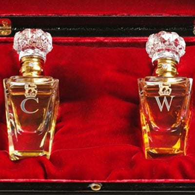 Clive Christian No. 1 Fragrances Presented to William and Catherine