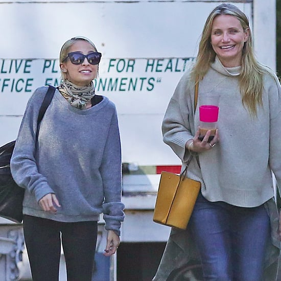Cameron Diaz and Nicole Richie Shopping in LA 2015