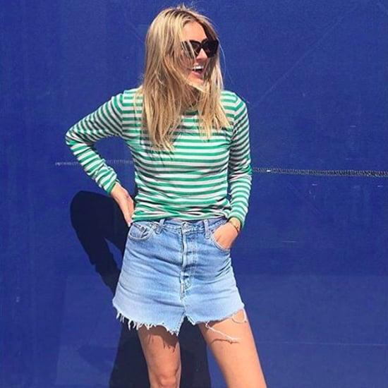 Ways to Wear a Denim Skirt