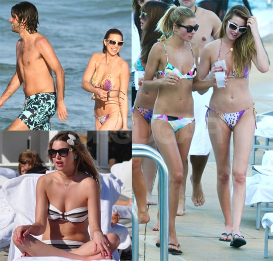 Photos of Bikini-Clad Whitney Port in Miami Filming The City