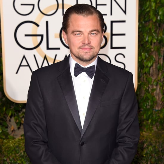 Leonardo DiCaprio at Golden Globe Awards 2016