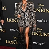 Beyoncé's Outfit At The Lion King Premiere in LA 2019