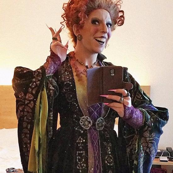 DIY Hocus Pocus Winifred Sanderson Halloween Costume