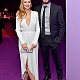 Leighton Meester et Adam Brody Font une Rare Apparition Publique à l'After Party des Golden Globes