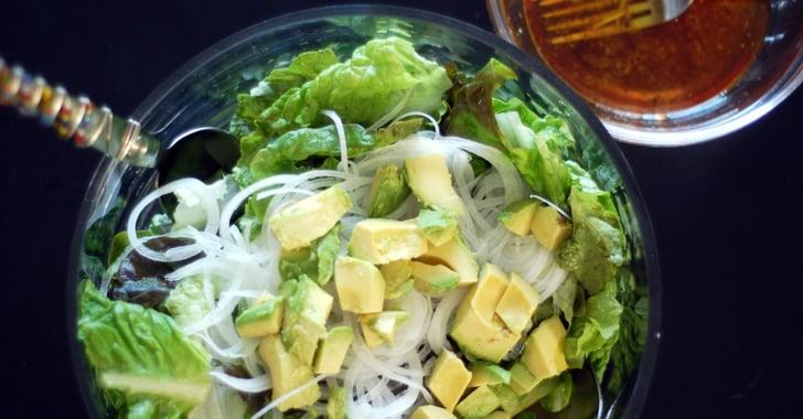 Green salad red wine vinaigrette popsugar food for Gazelle cuisine n 13