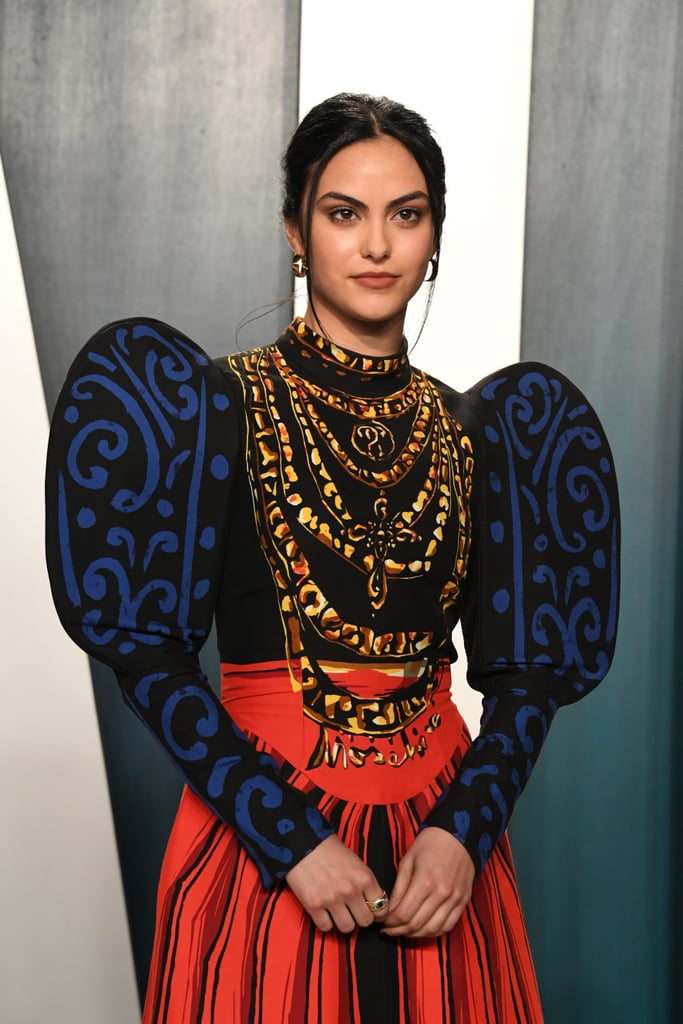 Camila Mendes at the Vanity Fair Oscars Afterparty 2020