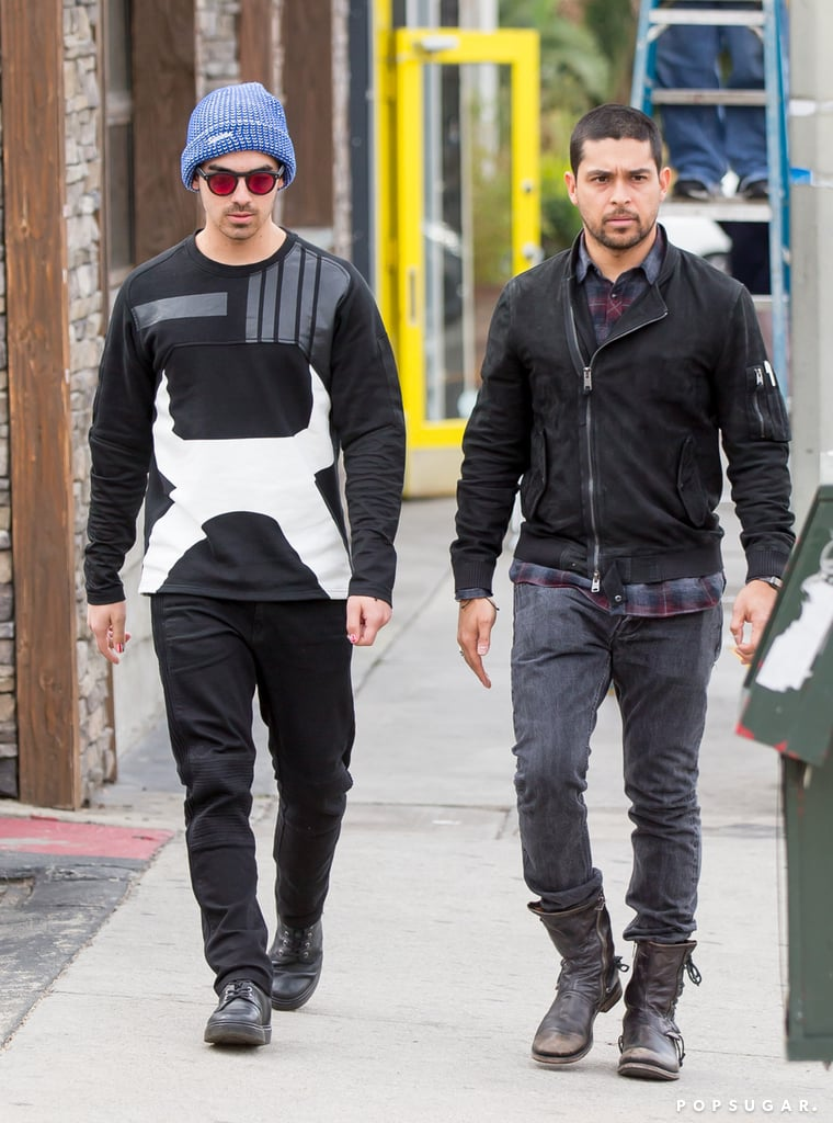 Joe and Nick Jonas Have an Incredibly Handsome Outing With Wilmer Valderrama