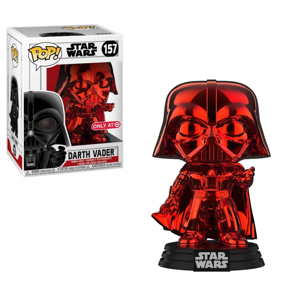 Funko POP! Star Wars: Red Chrome Darth Vader