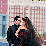 Romantic Halloween Wedding