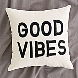 Urban Outfitters Magical Thinking Good Vibes Pillow