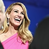 Julia enjoyed a good laugh with other attendees at the 2019 Oscars.