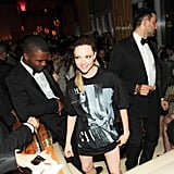 Amanda Seyfried debuted a pants-less look at the afterparty.  Source: Neil Rasmus/BFAnyc.com