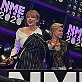 Taylor Swift at the NME Awards in Brixton 2020