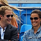 Pictures of Pippa Middleton in London 2011-06-09 09:49:00