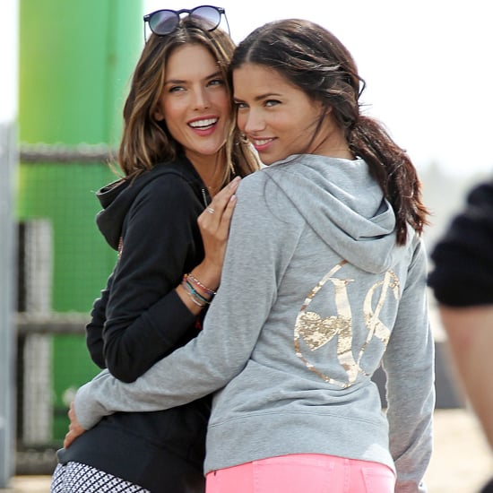 Alessandra Ambrosio's Victoria's Secret Shoot | Pictures