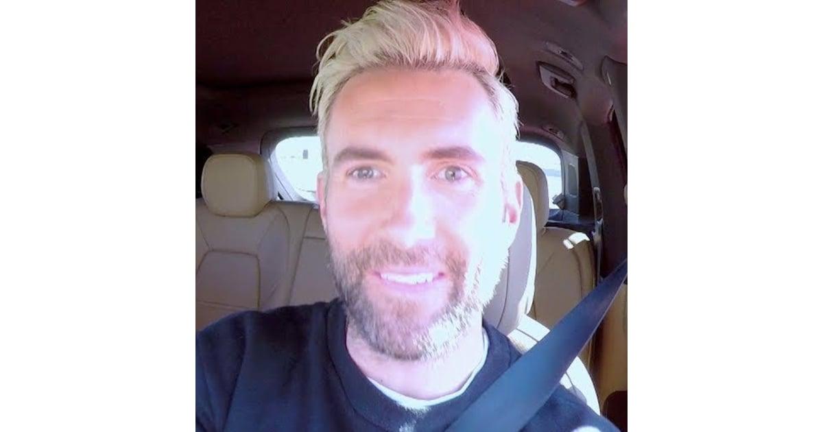 Adam Levine Carpool Karaoke Video Popsugar Celebrity