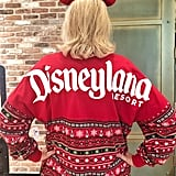 """Ugly Christmas Sweater"" Disneyland Spirit Jersey"