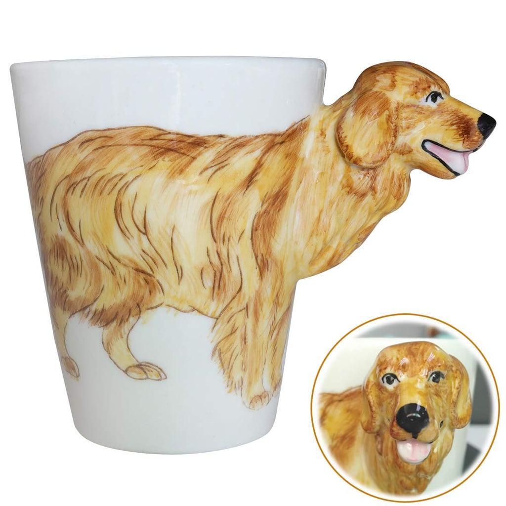 Wey&Fly 3D Coffee Dog Mug