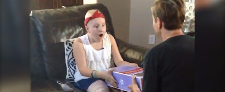 How 1 Doll Is Giving Hope to a Young Amputee Fighting Cancer