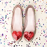 Ban.do Heart Shoe Clips