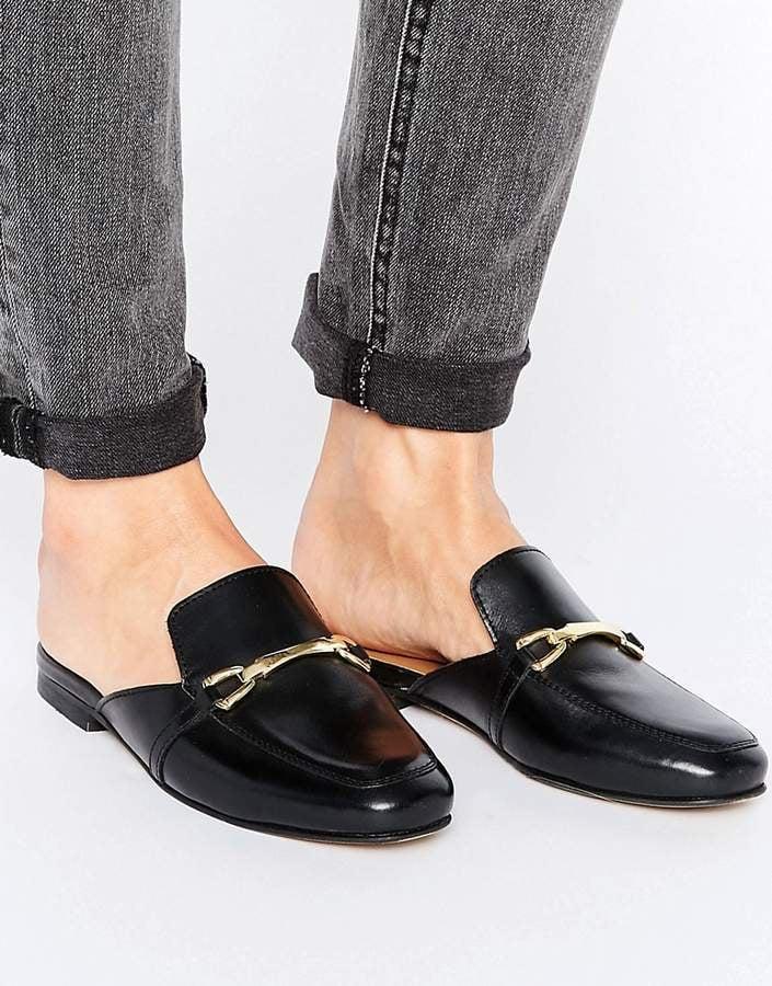 e502e5095359 Asos MOVIE Leather Mule Loafers