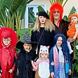 James Van Der Beek's Entire Family Donned Various Costumes