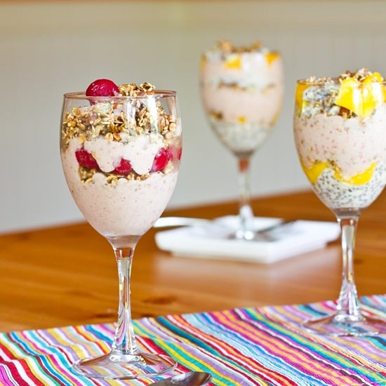Cherry-Banana Parfaits