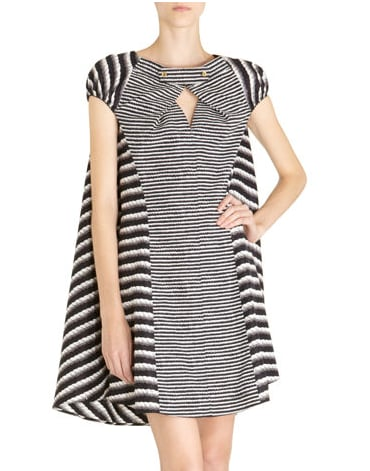We're smitten with this structured take on the babydoll dress.  Yves Saint Laurent Rope Print Dress ($,2490)