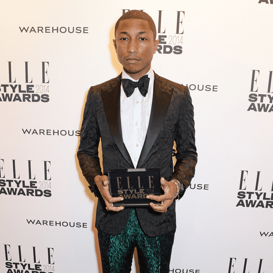 Pharrell's Metallic Pants Elle Style Awards | Video