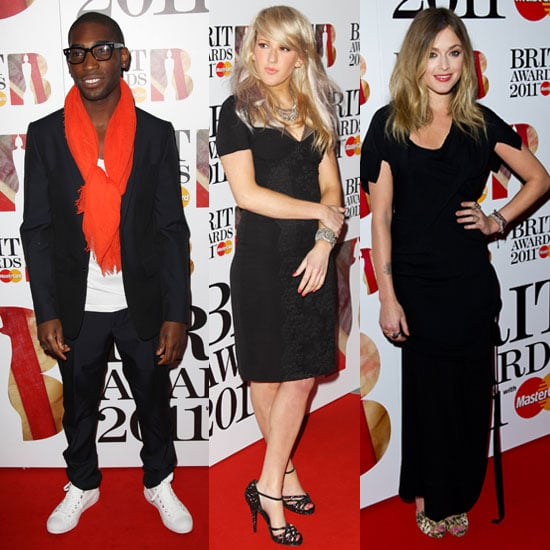 Pictures of Fearne Cotton, Tinie Tempah, Ellie Goulding at Brit Awards Nominations Party