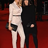 Helen Elizabeth Daly and Claudia Winkleman