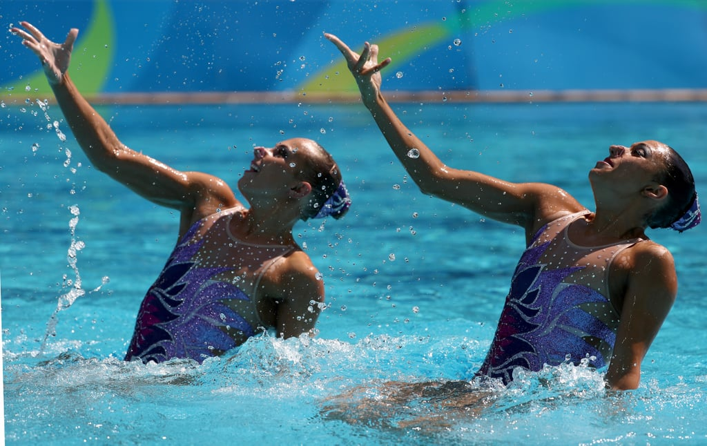 Beauty Rules of Olympic Synchronized Swimming
