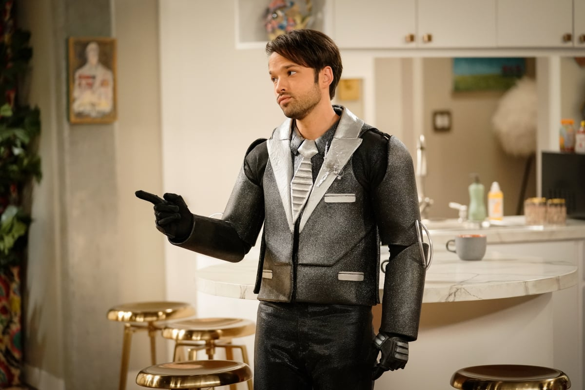 Pictured: Nathan Kress as Freddie of the Paramount+ series iCARLY. Photo Cr: Lisa Rose/Paramount+ ©2021, All Rights Reserved.
