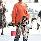 Rock a Vibrant Pair of Floral Pants With a Few More Colours Involved