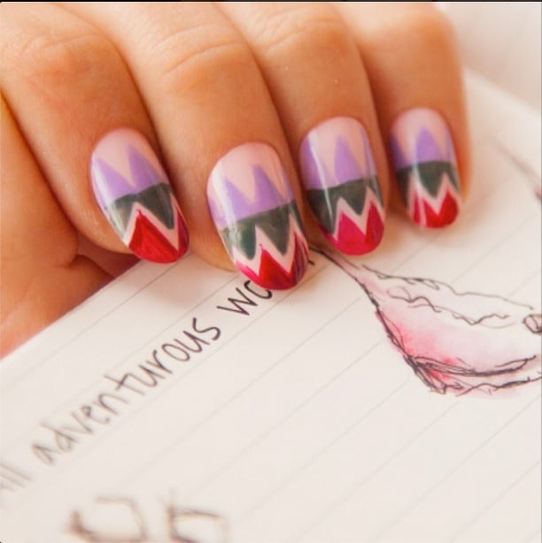 Best Spring 2014 Nail Art of Instagram | POPSUGAR Beauty