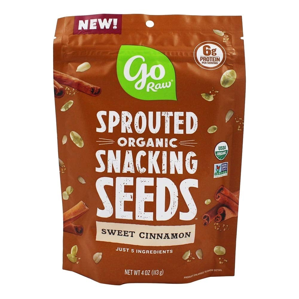 Go Raw Sweet Cinnamon Snacking Seeds