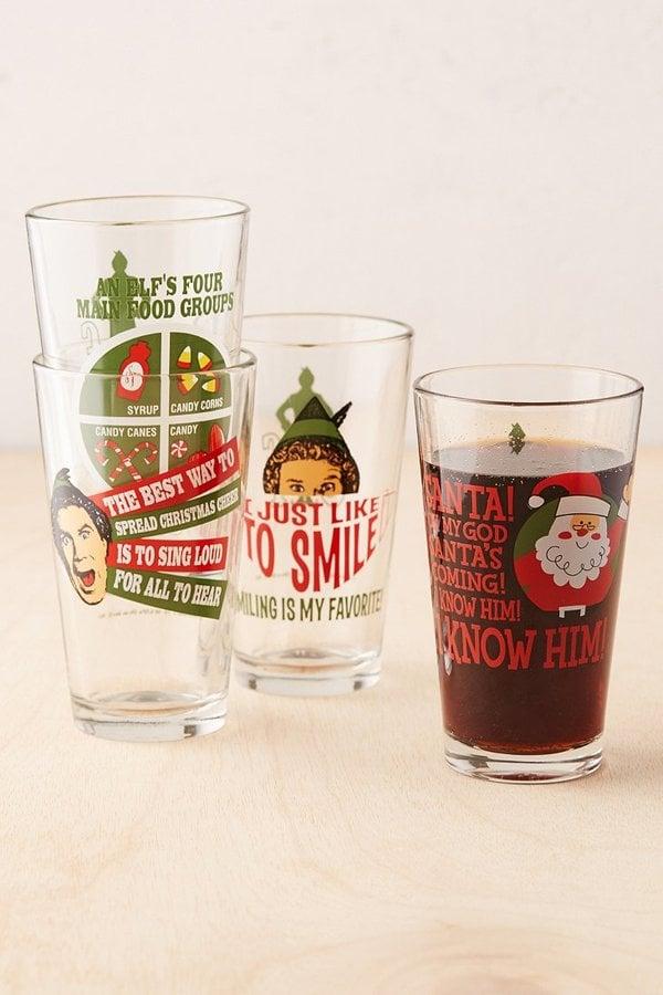 Elf Pint Glass Set ($30)