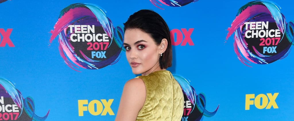"""We're Calling It Now: Lucy Hale's """"Berry Eyes"""" Will Be Fall's Hottest Makeup Trend"""