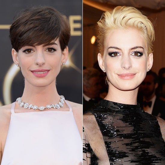 How to Dye Your Hair From Brown to Blonde Like Anne Hathaway