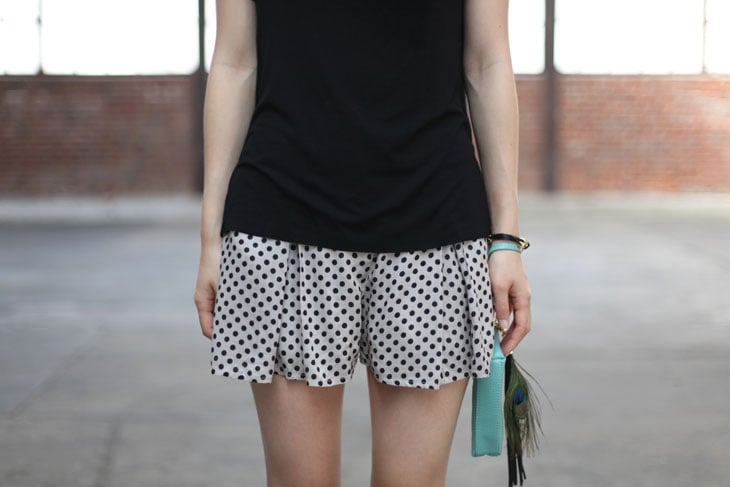 Silky polka-dot shorts can be worn from day to night — just add a sleek pair of heels for a more formal vibe. Mikkat Market Polka Dot Shorts ($32)