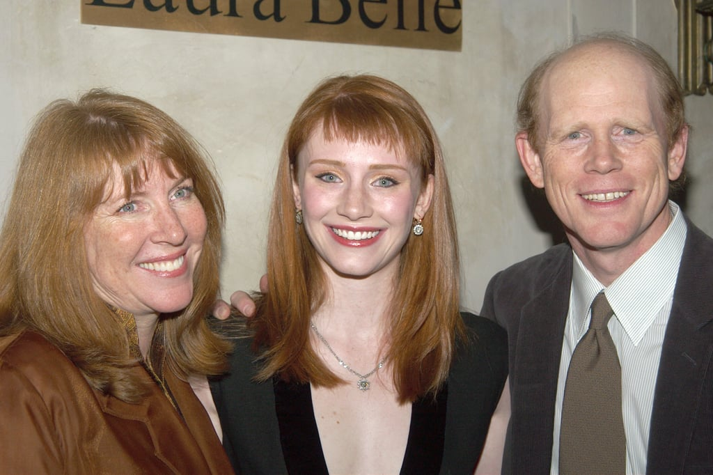 Bryce Dallas Howard With Baby Bangs