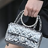 A Chanel Bag on the Runway During Paris Fashion Week