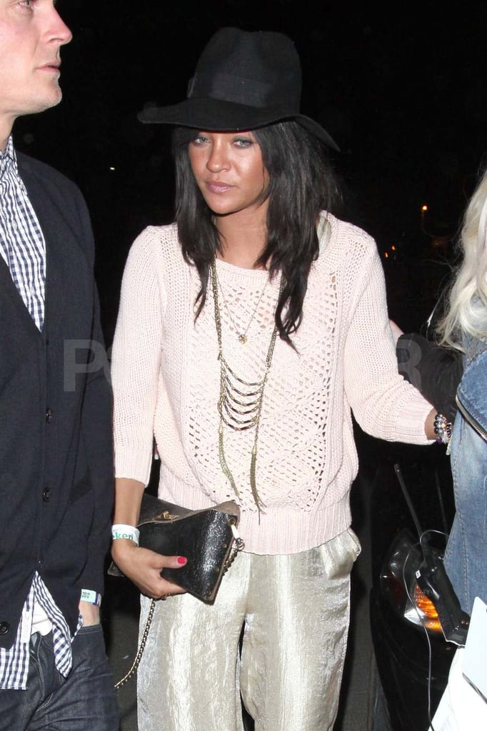 Jessica Szohr partied at the Neon Carnival on Saturday.