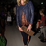 Jodie Kidd was blooming at Issa London.