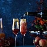 Pomegranate Cider Mimosa