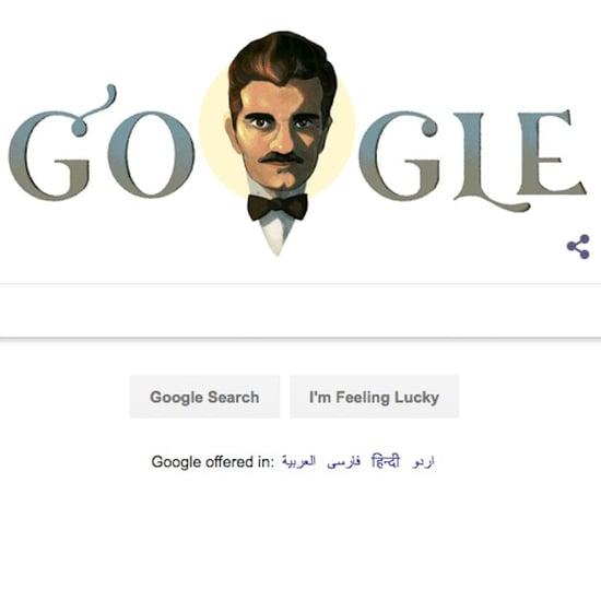 Omar Sharif Google Doodle April 10, 2018
