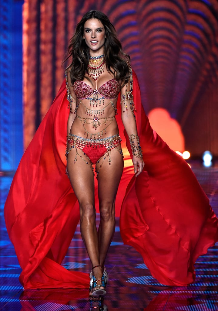 Take a Look Back at Alessandra Ambrosio's Sexiest Victoria's Secret Fashion Show Outfits