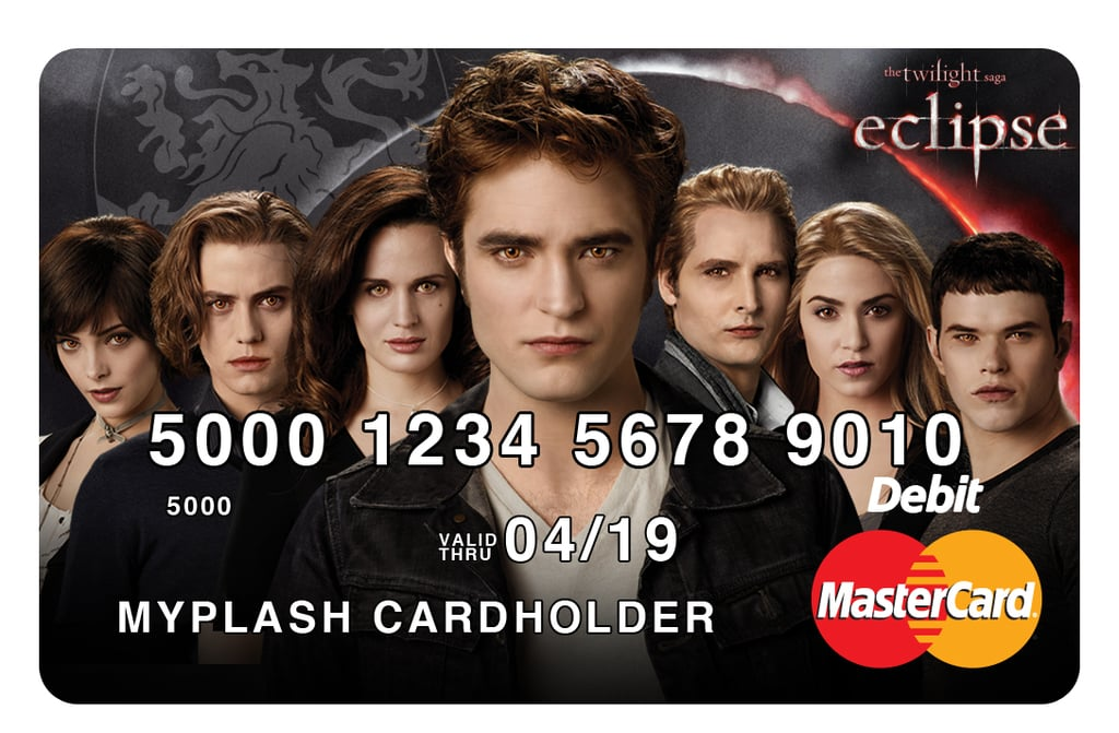 Pictures of Twilight Saga Prepaid MasterCards