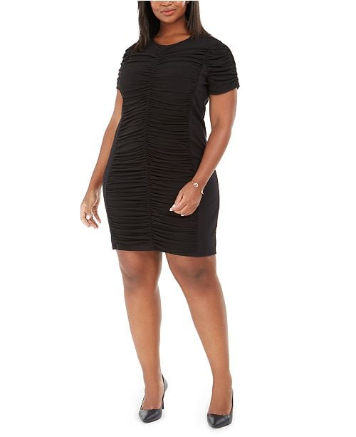 Michael Kors Ruched Sheath Dress