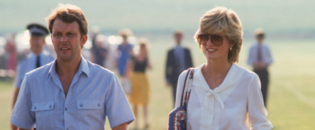 Princess Diana in Aviator Sunglasses
